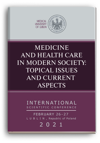 Cover for MEDICINE AND HEALTH CARE IN MODERN SOCIETY: TOPICAL ISSUES AND CURRENT ASPECTS