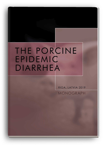 Cover for THE PORCINE EPIDEMIC DIARRHEA: сollective monograph
