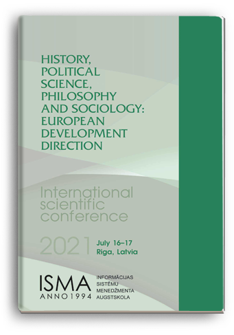Cover for HISTORY, POLITICAL SCIENCE, PHILOSOPHY AND SOCIOLOGY: EUROPEAN DEVELOPMENT DIRECTION
