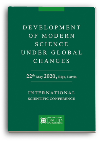 Cover for DEVELOPMENT OF MODERN SCIENCE UNDER GLOBAL CHANGES: International Scientific Conference