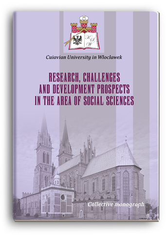 Cover for RESEARCH, CHALLENGES AND DEVELOPMENT PROSPECTS IN THE AREA OF SOCIAL SCIENCES