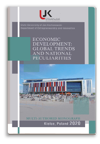 Cover for ECONOMIC DEVELOPMENT: GLOBAL TRENDS AND NATIONAL PECULIARITIES: Collective monograph