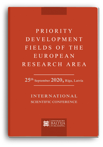 Cover for PRIORITY DEVELOPMENT FIELDS OF THE EUROPEAN RESEARCH AREA: International Scientific Conference