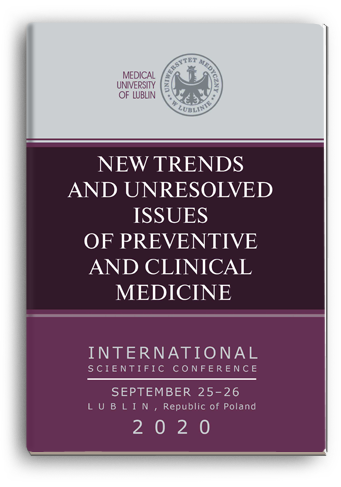 Cover for NEW TRENDS AND UNRESOLVED ISSUES OF PREVENTIVE AND CLINICAL MEDICINE