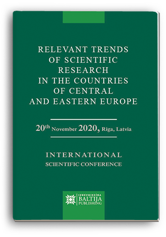 Cover for RELEVANT TRENDS OF SCIENTIFIC RESEARCH IN THE COUNTRIES OF CENTRAL AND EASTERN EUROPE: International Scientific Conference